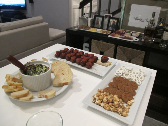 Snacks for our guests.